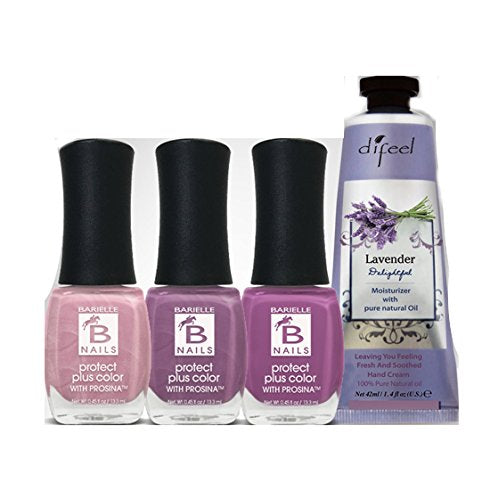 Barielle Lovely Lady 4-Piece Hand Cream & Nail Polish Collection