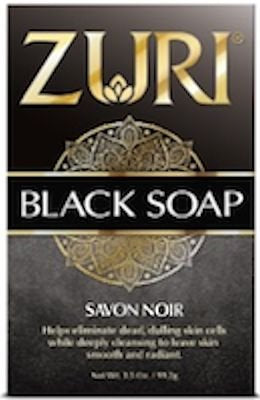 Zuri Black Soap 3.5 oz.
