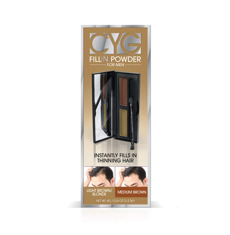 Cover Your Gray Fill in Powder Pro for Men - Blonde/Medium Brown