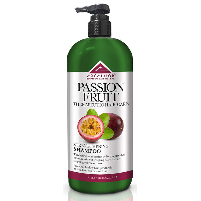 Excelsior Deep Cleansing Passion Fruit Strengthening Shampoo 33.8oz (Pack-6)