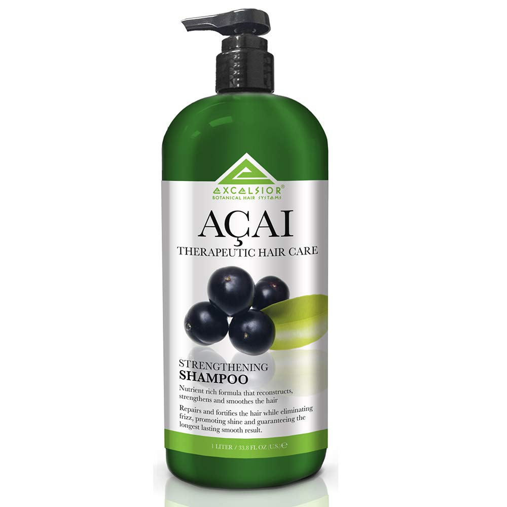 Excelsior Therapeutic Hair Care Acai Strengthening Shampoo 33.8oz 2PK