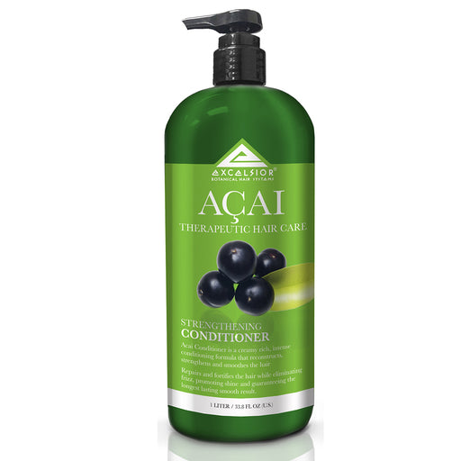 Excelsior Therapeutic Hair Care Acai Strengthening Conditioner 33.8 oz.
