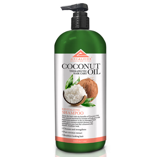 Excelsior Revitalizing Coconut Oil Shampoo 33.8 oz.