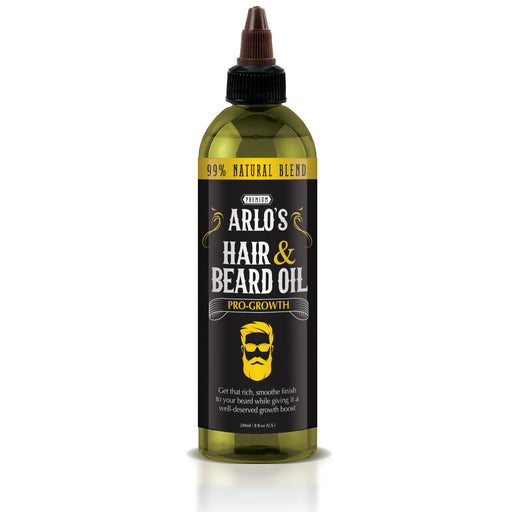 Arlo's Pro-Growth Hair and Beard Oil 8 oz.