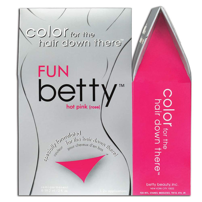 Fun Betty - Color for the Hair Down There Kit (3-PACK)