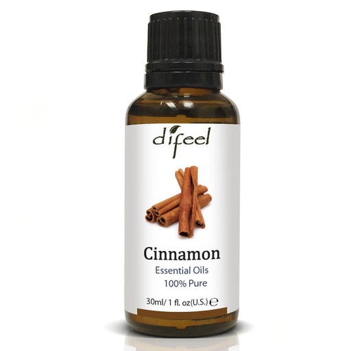 Difeel Essential Oil 100% Pure Cinnamon Oil 1 oz.
