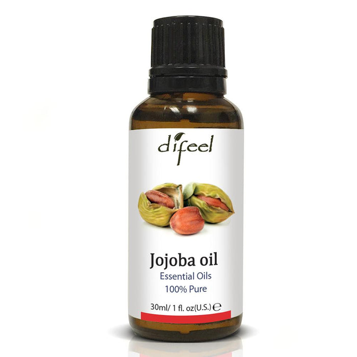 Difeel Essential Oil 100% Pure Jojoba Oil 1 oz.