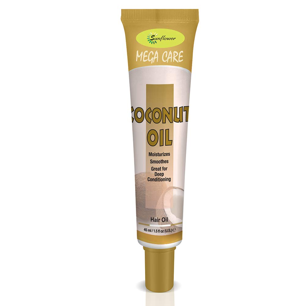 Difeel Mega Care Hair Oil-Coconut Oil1.4oz 2PK