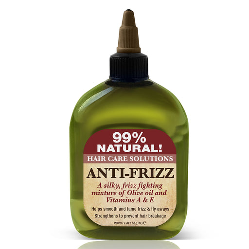 Difeel 99% Natural Hair Care Solutions Anti-frizz Hair Oil 7.78 oz.