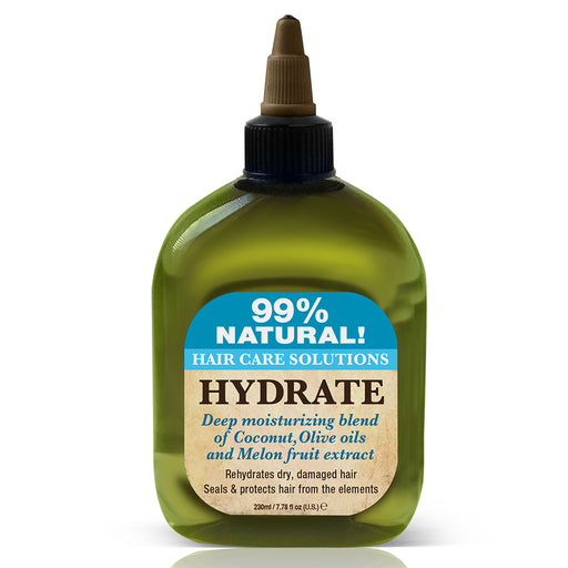 Difeel 99% Natural Hair Care Solutions Hydrate Hair Oil 7.78 oz.