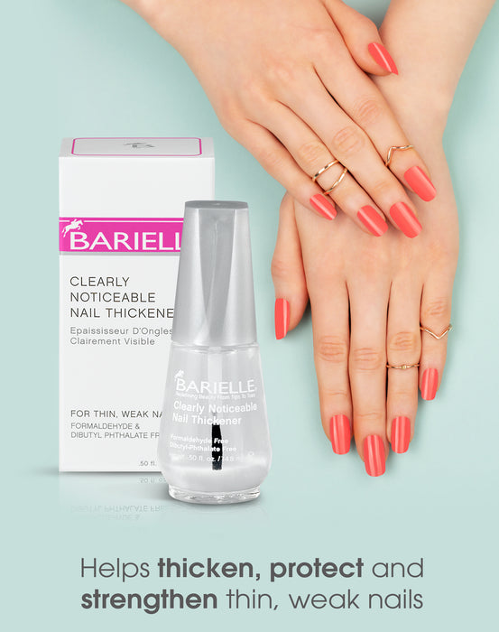 Barielle Clearly Noticeable Nail Thickener .5 oz.