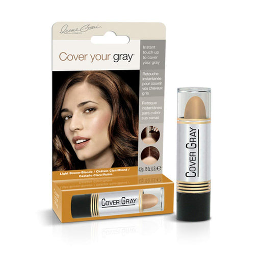 Cover Your Gray Touch Up Stick - Light Brown .25 oz.