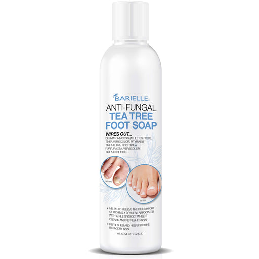 Barielle Antifungal Soap Tea Tree Foot Wash - Foot Soap 6 oz. - Barielle - America's Original Nail Treatment Brand