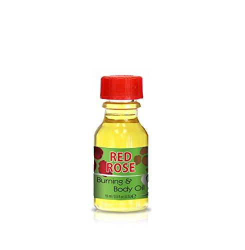 Burning & Body Oil - Red Rose .5 oz.