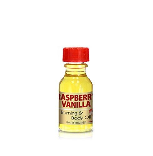 Burning & Body Oil - Raspberry Vanilla .5 oz.