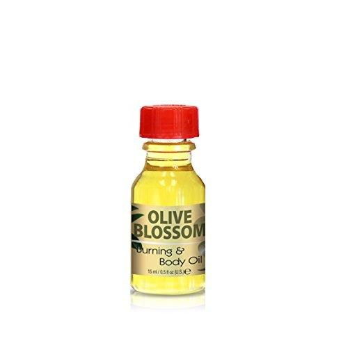 Burning & Body Oil - Olive Blossom .5 oz.