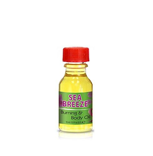 Burning & Body Oil - Sea Breeze .5 oz.