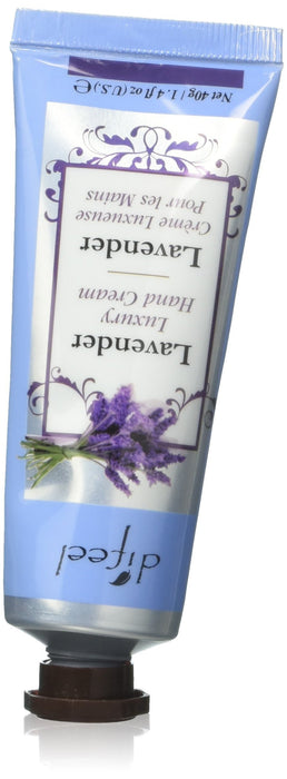 Difeel Luxury Moisturizing Hand Cream - Lavender 1.4 oz.