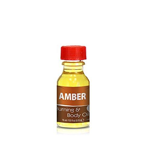 Burning & Body Oil - Amber .5 oz.