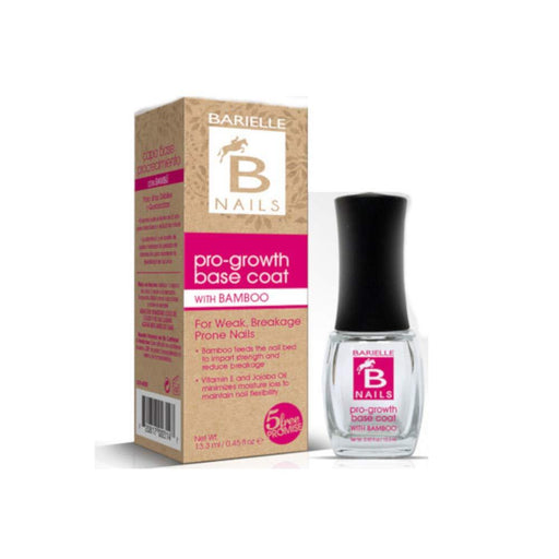 Barielle Pro-Growth Base Coat .45 oz. - with Bamboo - Barielle - America's Original Nail Treatment Brand
