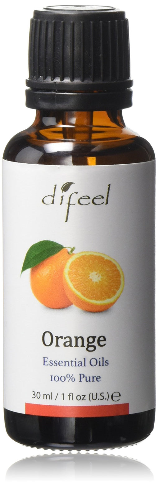 Difeel Essential Oil 100% Pure Orange Oil 1 oz.