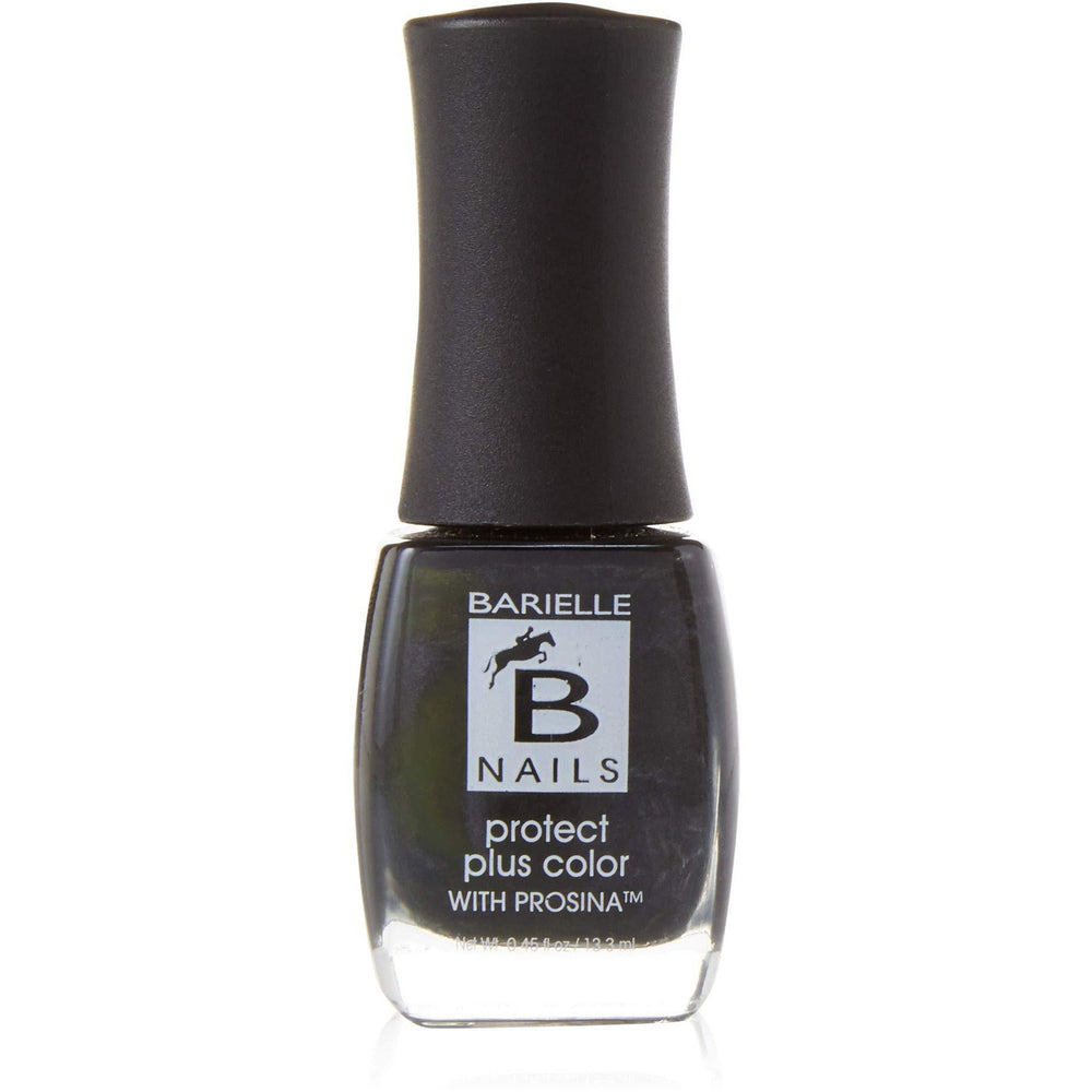 Protect+ Nail Color w/ Prosina - Silhoutte (A Black Gray w/Shimmer) - Barielle - America's Original Nail Treatment Brand