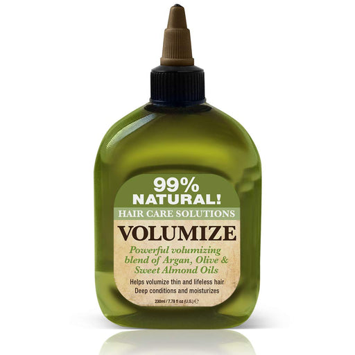 Difeel 99% Natural Hair Care Solutions Volumize Hair Oil 7.78 oz.
