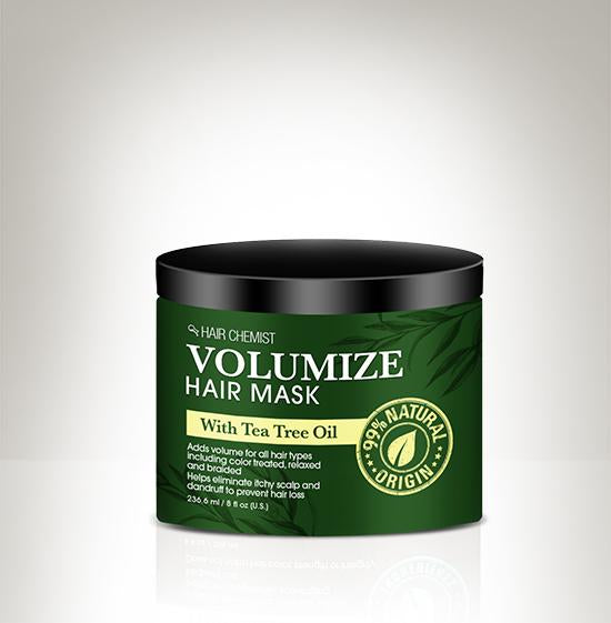 Hair Chemist Volumize Hair Mask with Tea Tree Oil 8 oz.