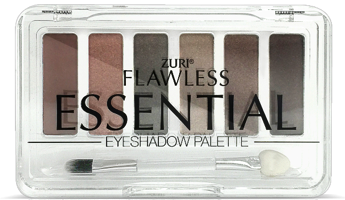Zuri Flawless Essential Eye Shadow Palette 6-Shades