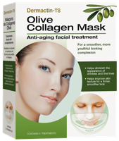 Dermactin-TS Collagen Mask with Deeply Moisturizing Olive Extract