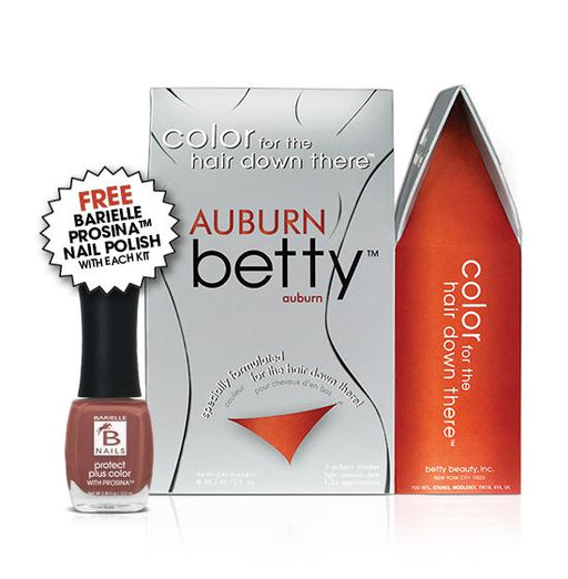 Betty Beauty Auburn Betty Color Kit w/Free Prosina Nail Polish