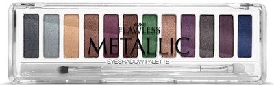 Zuri Flawless Metallic Eye Shadow Palette 12-Shades