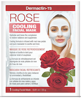Dermactin-TS Cooling Rose Facial Sheet Mask