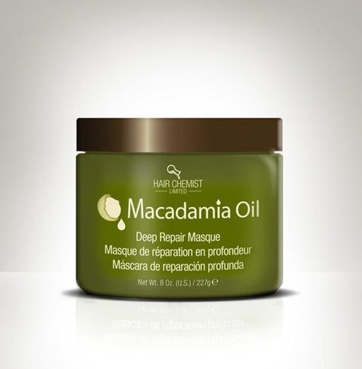 Hair Chemist Macadamia Oil Deep Repair Masque 8 oz.