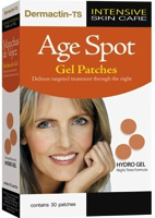 Dermactin-TS Age Spot Gel Patches, Hydro Gel Night Time Formula 30-Patches
