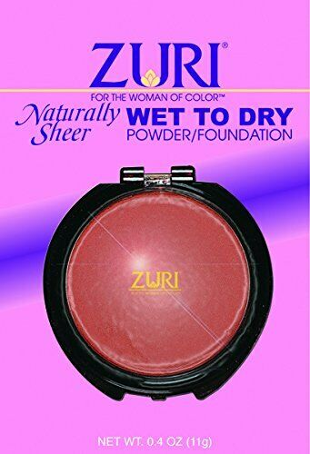 Zuri Wet/Dry Powder - Fresh Hazelnut 3-Count (6-PACK)