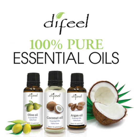 6-PACKS 100% Pure Essential Oils All Scents- Argan Oil, Cedar Oil, Tea Tree Oil, & more!