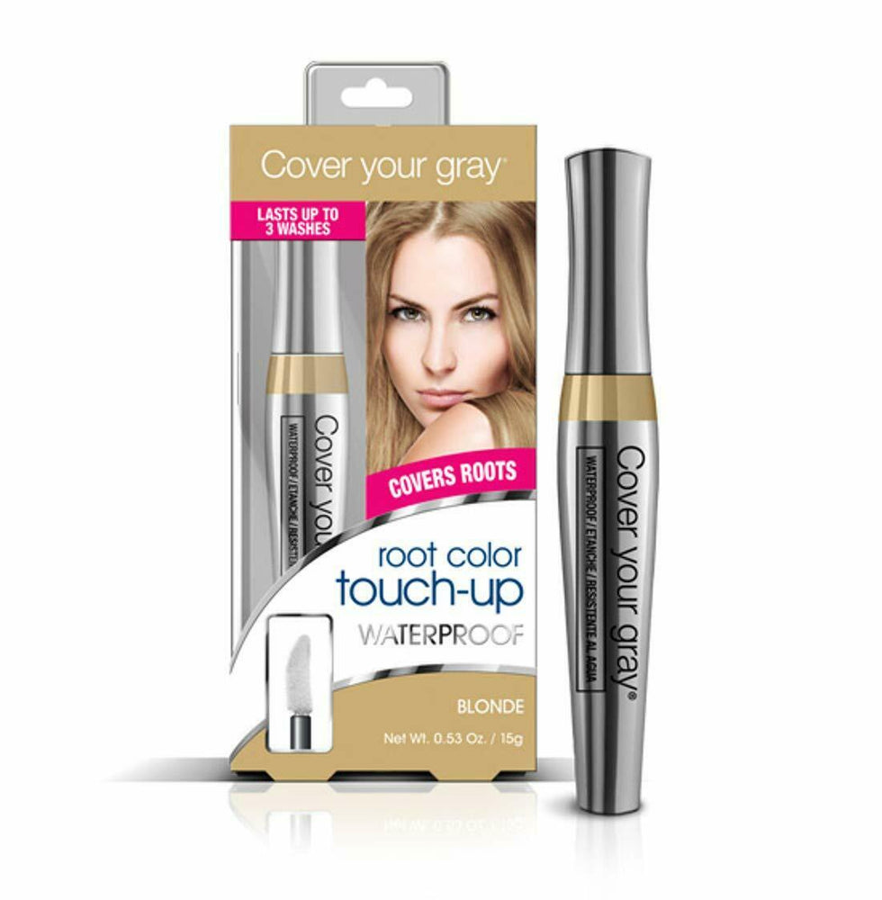 Cover Your Gray Waterproof Root Touch-up - Light Brown/Blonde (6-PACK)