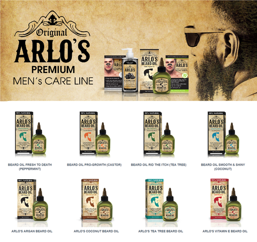 Arlo's Premium Beard Oils - 8 Varieties
