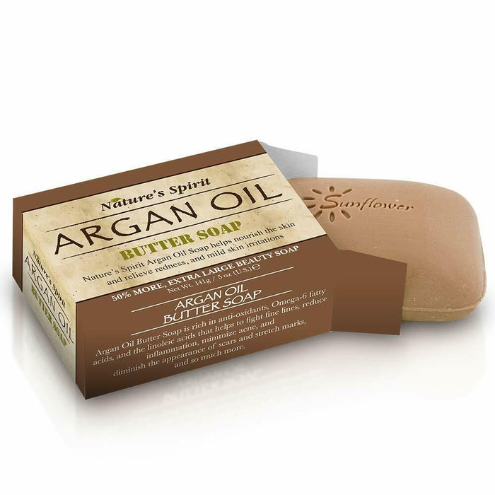 Nature's Spirit Argan Butter Soap 5 oz. (6-PACK)