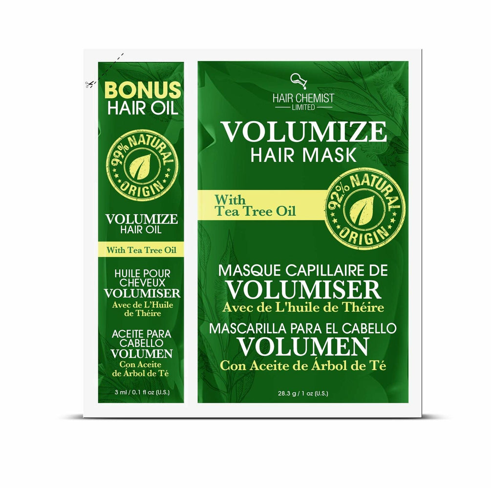 Hair Chemist Revitalize Hair Mask with Macadamia Oil Packette 1 oz. (6-PACK)