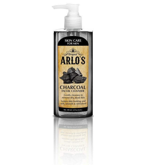 Arlo's Men's Pore Refining Charcoal Cleanser Gel 5.7 oz. (6-PACK)