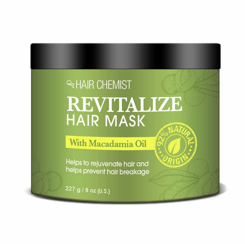 Hair Chemist Revitalize Hair Mask with Macadamia Oil 8 oz. (3-PACK)
