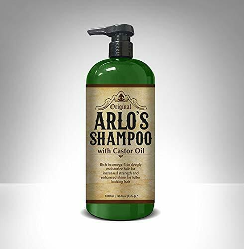 Arlo's Shampoo with Castor Oil 33 oz. (2-PACK)