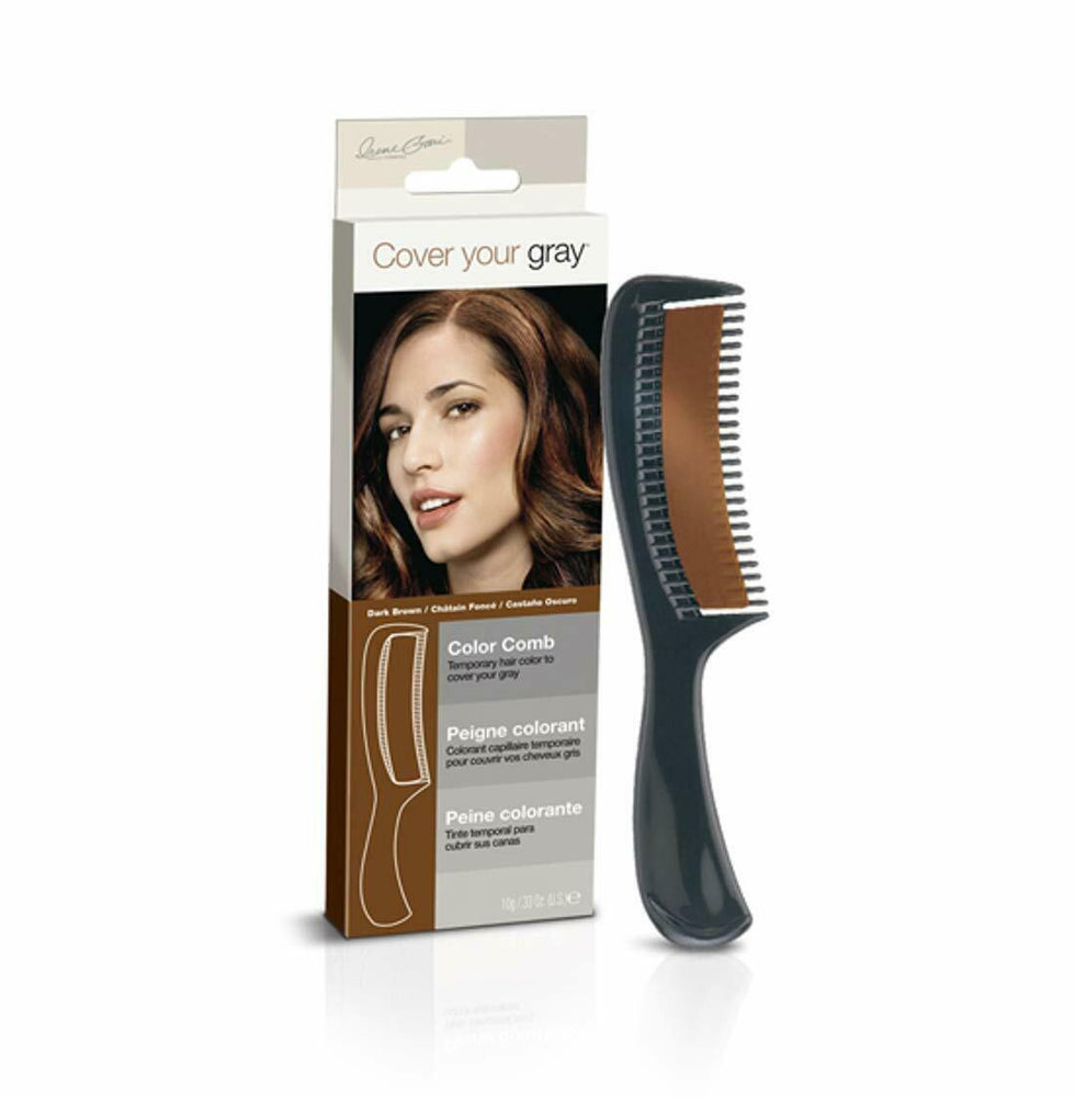 Cover Your Gray Color Comb - Dark Brown (3-PACK)