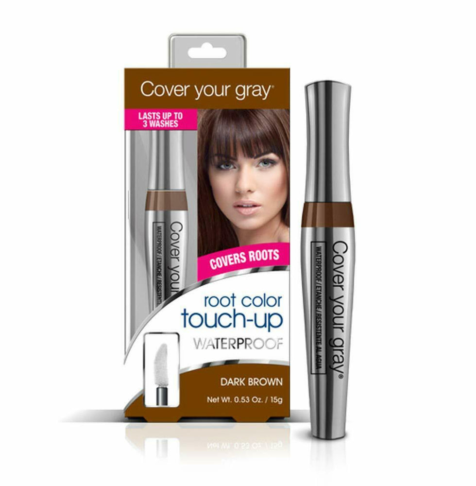Cover Your Gray Waterproof Root Touch-up - Dark Brown (3-PACK)