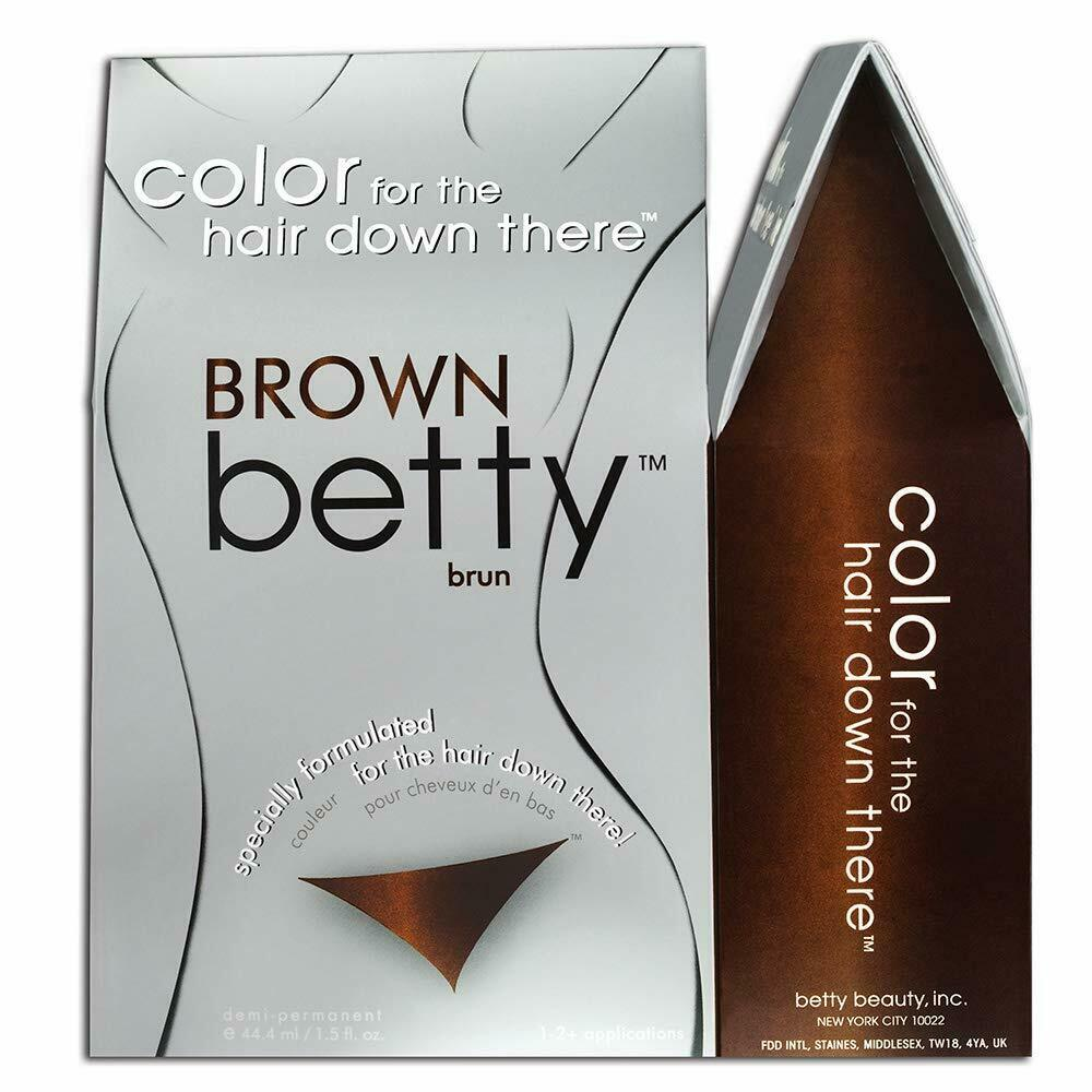 Brown Betty - Color for the Hair Down There Kit (6-PACK)