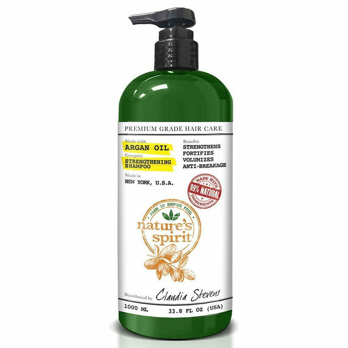 Nature's Spirit Argan Oil Shampoo 33 oz. (6-PACK)