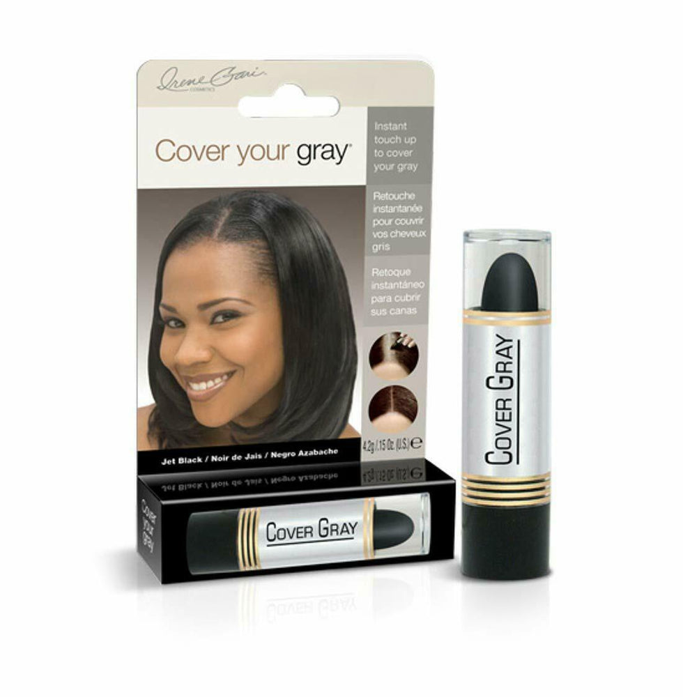 Cover Your Gray Hair Color Touch-up Stick - Jet Black (2-PACK)
