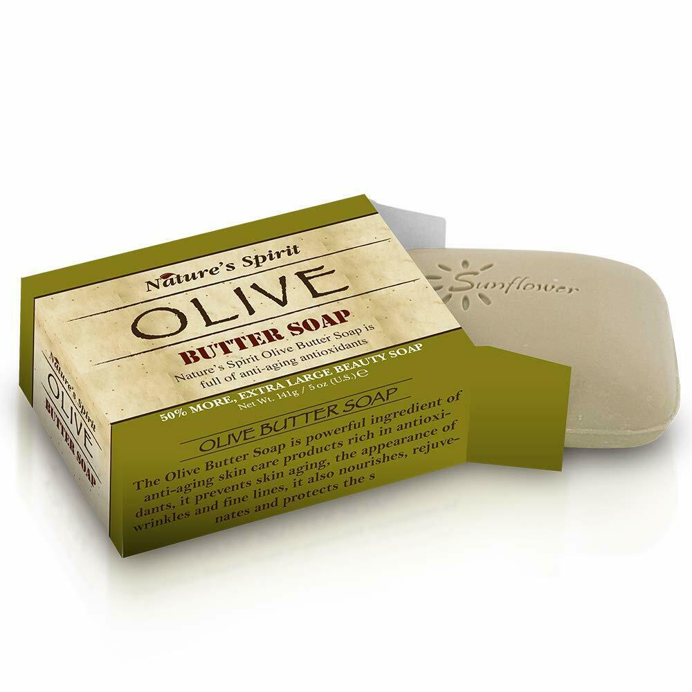 Nature's Spirit Olive Butter Soap 5 oz. (6-PACK)